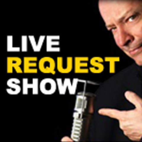 YOUR LIVE REQUEST SHOW with Tom Kent logo