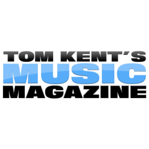 MUSIC MAGAZINE with Tom Kent logo