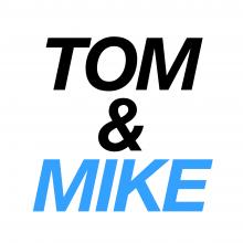 Tom and Mike Podcast logo